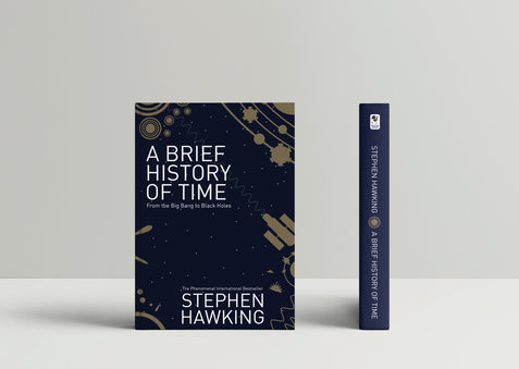 A Brief Hisory of Time Book Cover