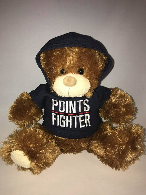 Blitz the bear in Points Fighter Hoodie