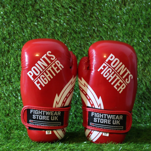 PRO X - Points Gloves (Glossy Red)