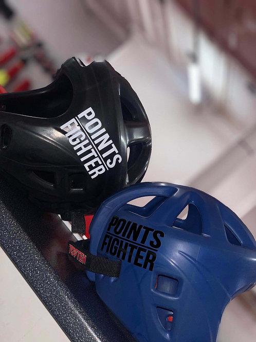 WHITE - Points Fighter Vinyl Sticker