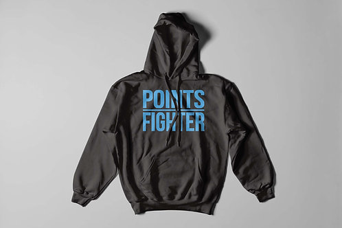 Points Fighter Hoodie - Azure Blue