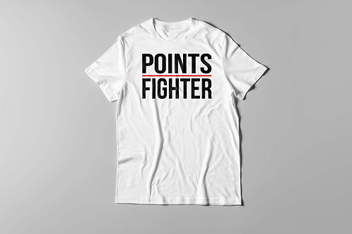 Points Fighter Tee (White)