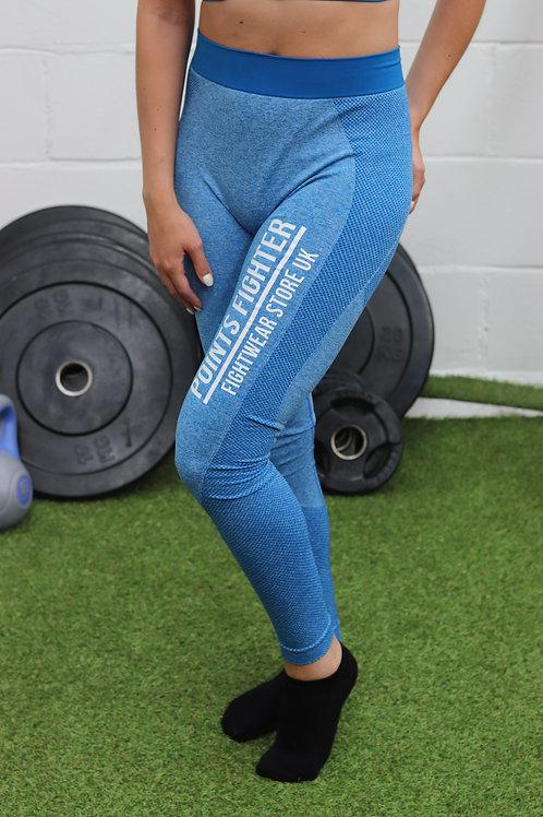 Points Fighter Leggings - Blue