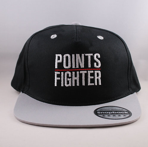Points Fighter Snapback - Grey