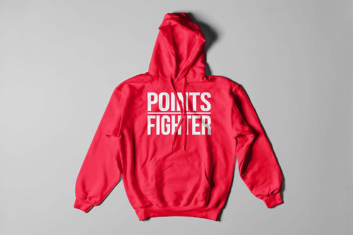 Red Points Fighter Hoodie