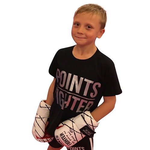 Silver Points Fighter T-Shirt