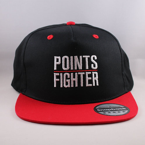 Points Fighter Snapback - Red