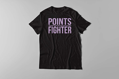 Points Fighter Tee - Lilac