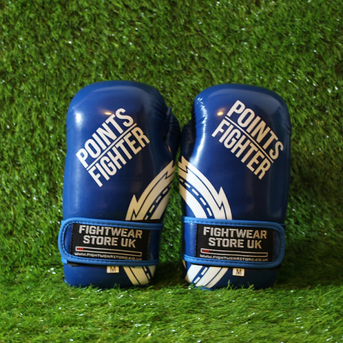 PRO X - Points Gloves (Glossy Blue)