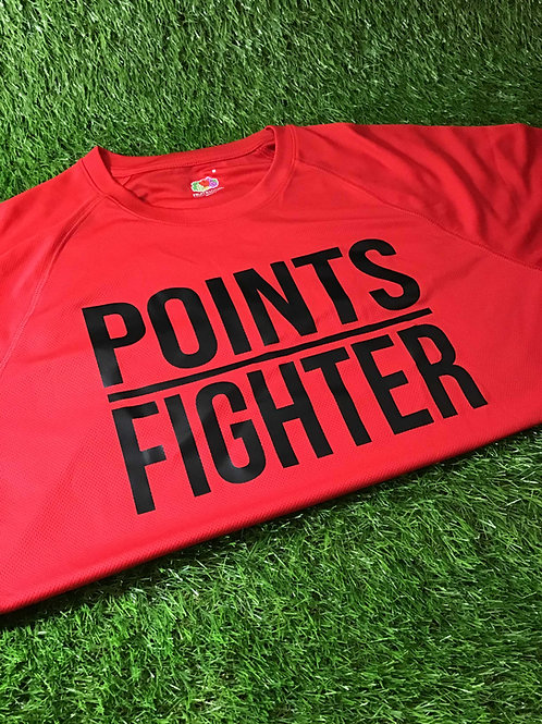 Points Fighter Tech Tee (Red)