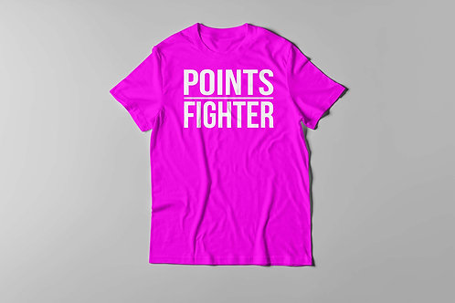 Points Fighter Tee (Pink)