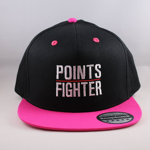 Points Fighter Snapback - Fuchsia