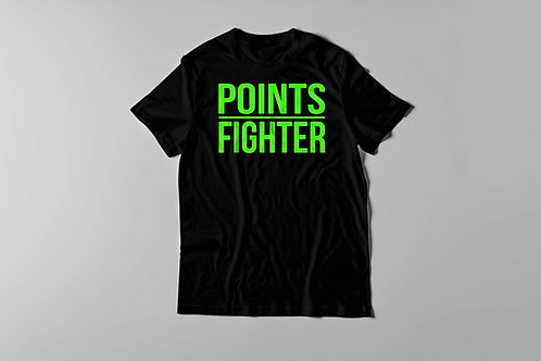 Points Fighter Tee (Neo Green)