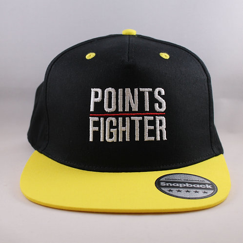 Points Fighter Snapback - Yellow