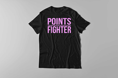 Points Fighter Tee (Neo Pink)