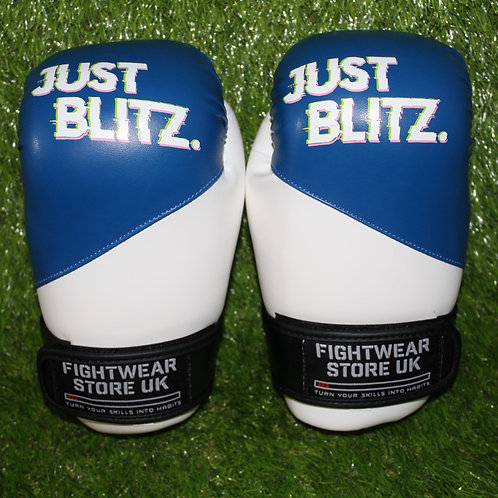 Just Blitz Points Gloves - Blue