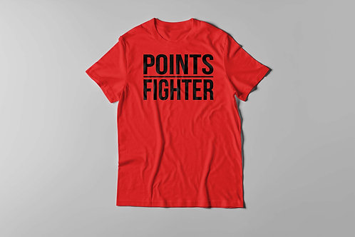 Points Fighter Tee (Red)