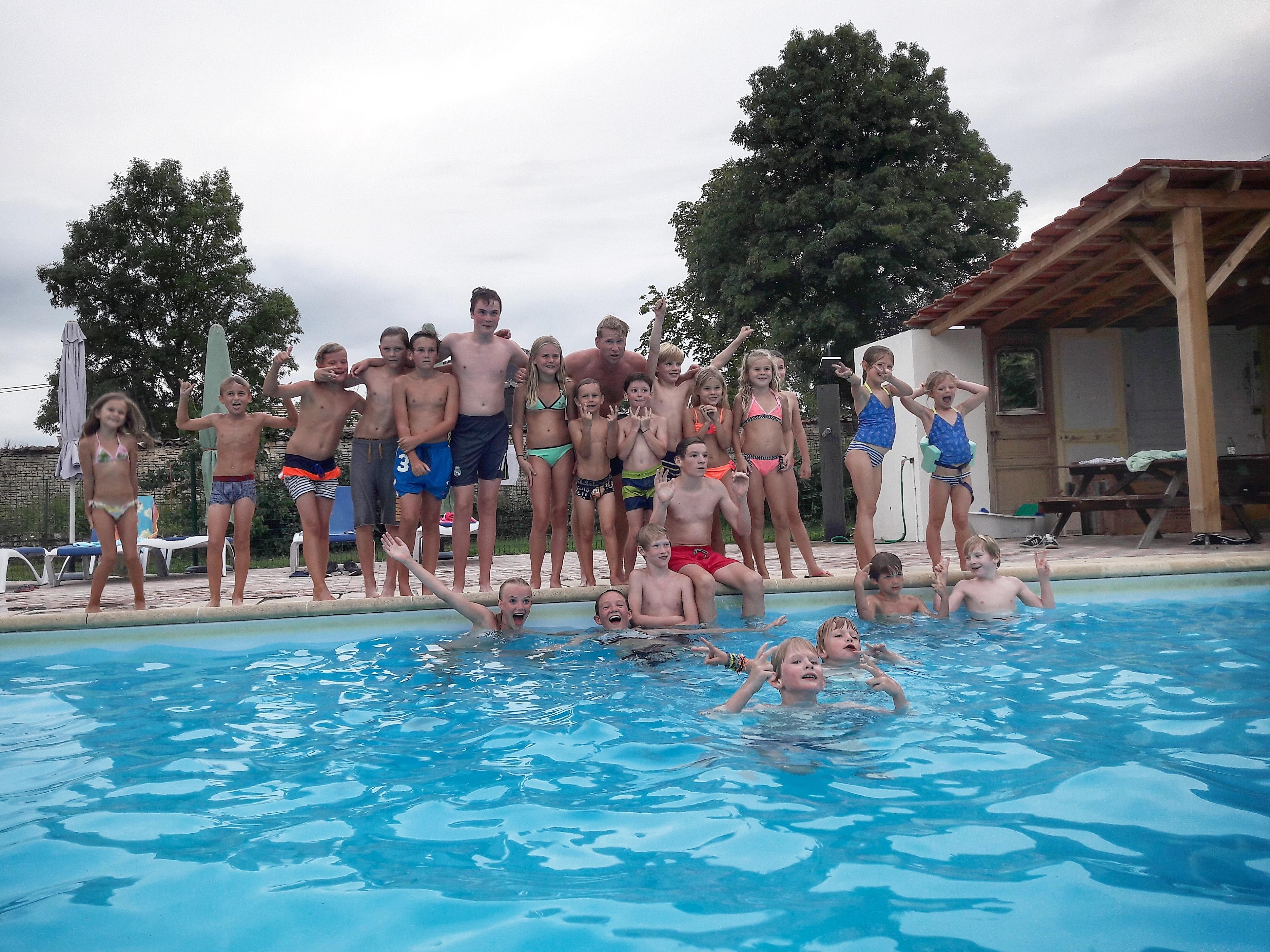 Tijdens de zomervakantie...