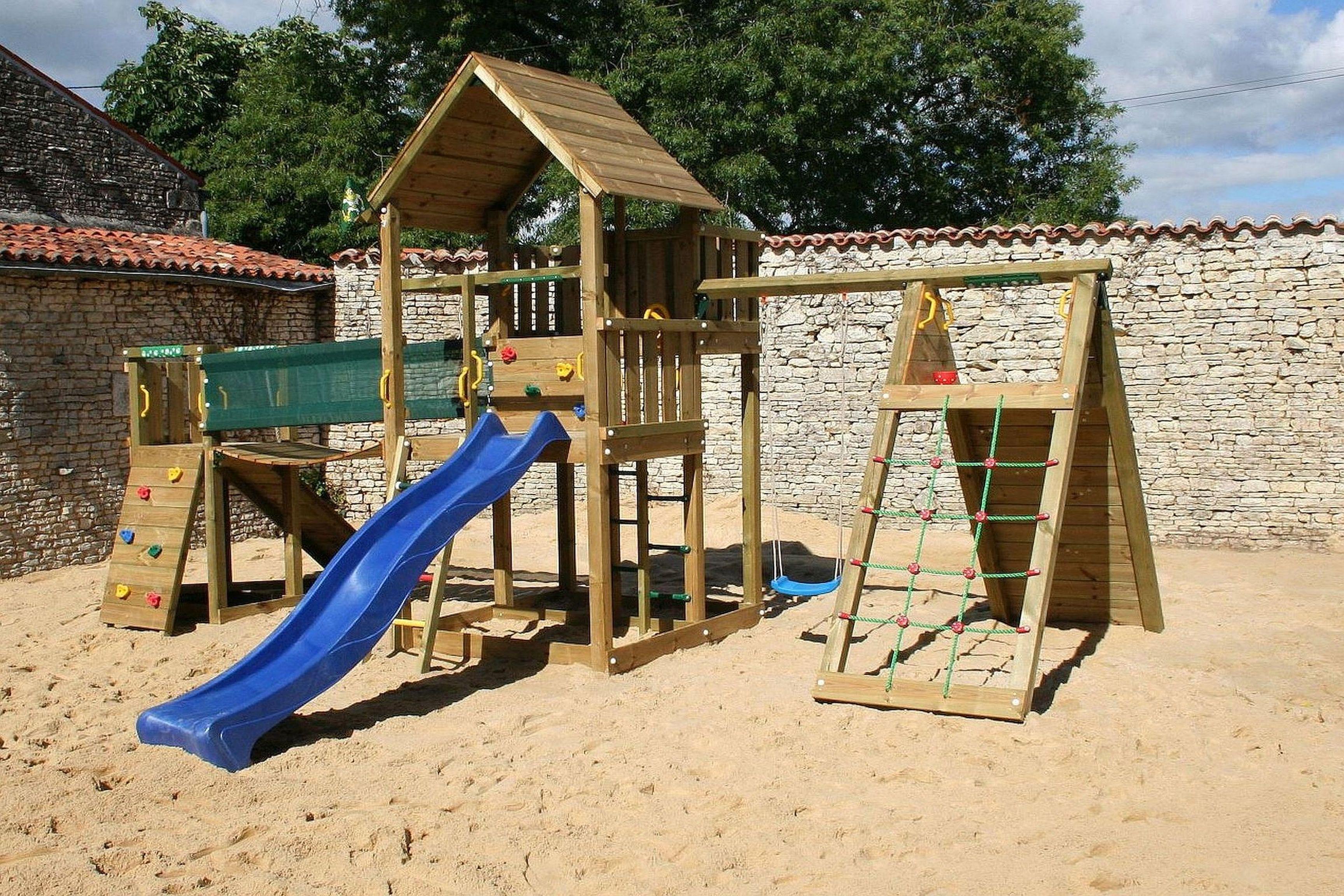 Klimhuis speeltuin