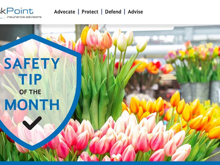 Floral Department Safety Tips