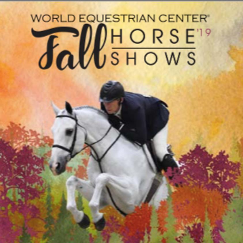 World Equestrian Center Fall shows