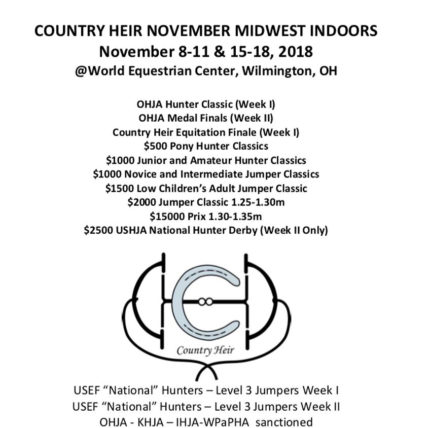 Country Heir Indoors II