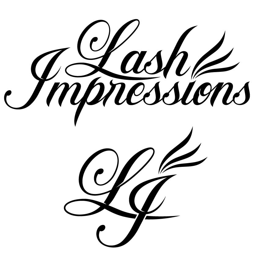 Lash Impressions TypefaceLogo Design