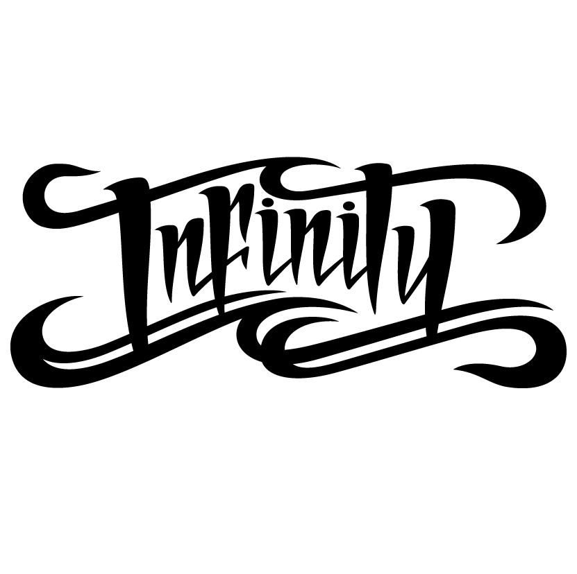 Lettering -Infinity