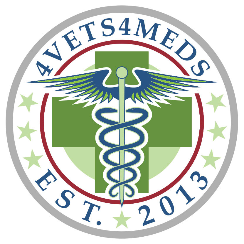 4Vets 4Meds Logo Design