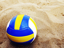 Volleyboll på Sand