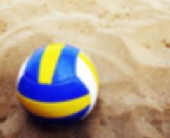 Volleyball auf Sand