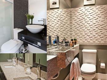 Como escolher o acabamento ideal para a bancada do banheiro!