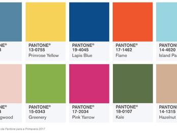 Tendências de cores 2017