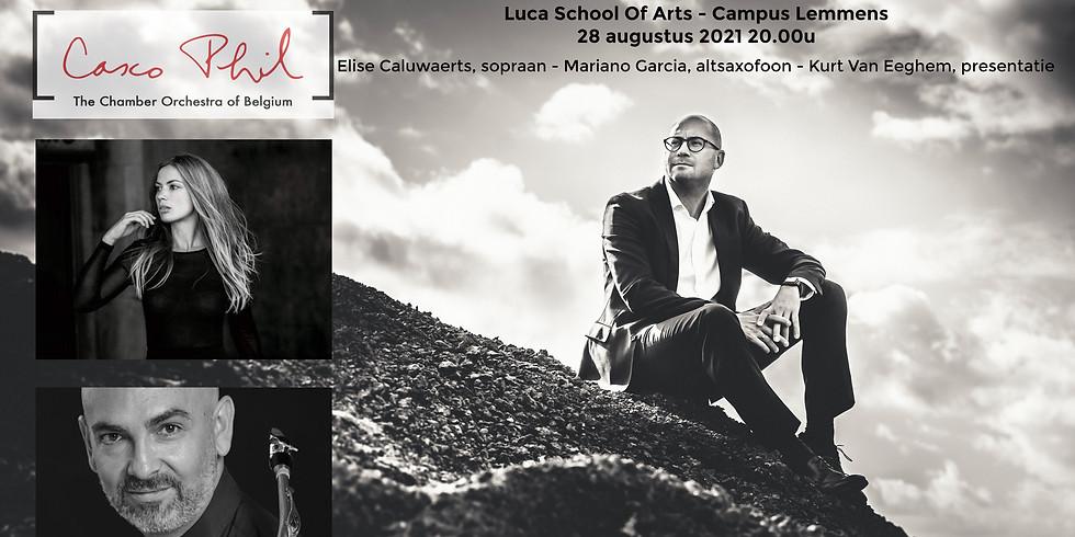 Symfonie I & Altsaxofoon Concerto (Houben)