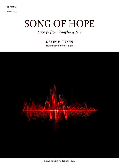 Song of Hope - soprano acc. piano, prof. version