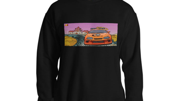 King Of The World Crewneck
