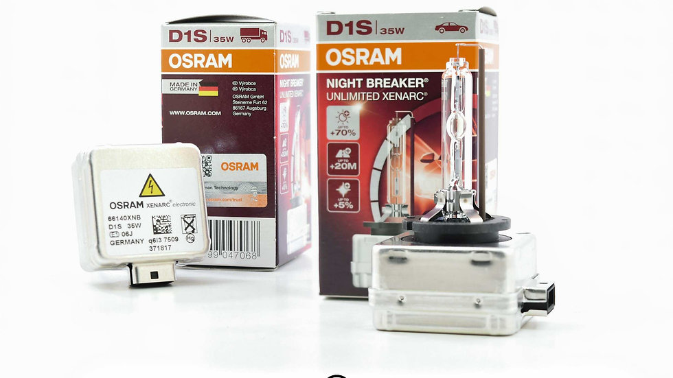 D1S: Osram Xenarc 66144 Nightbreaker