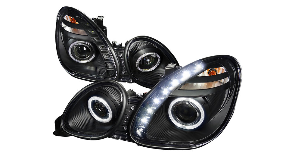 1998-2005 Lexus GS300/GS400/GS430 (Dual Halos & LED Daytime Running Lights)