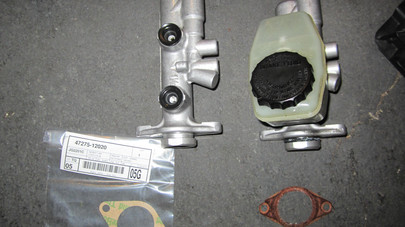 92-00 Lexus SC300/SC400 Brake Master Cylinder and Booster Replacement
