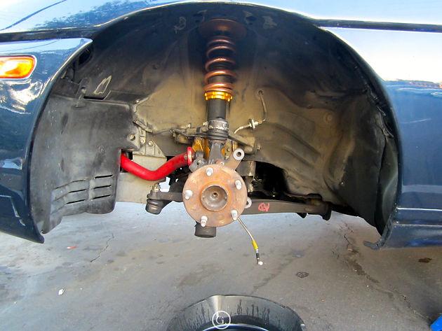 98-00 Lexus LS400 Brake Caliper Conversion on 92-00 Lexus SC300/SC400