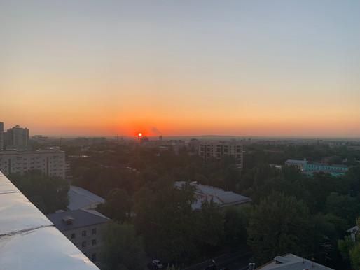 Tag 36: Almaty (KZ) - Sagabuien (KZ)