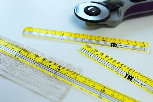 Conjunto de Réguas para Costura Toke e Crie TEC