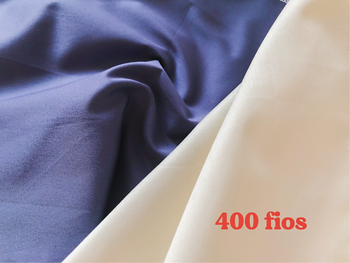 Tecido Percal • 400 fios