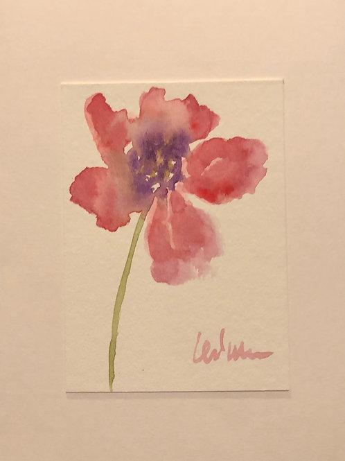 Peace  Original Watercolor Greeting Card