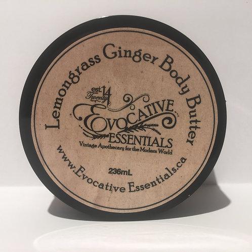 Body Butter - Lemongrass Ginger