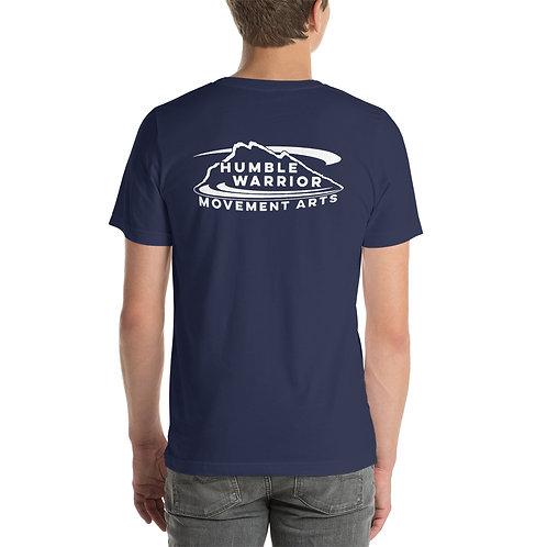 Short-Sleeve Unisex T-Shirt - Back Logo - Colors!