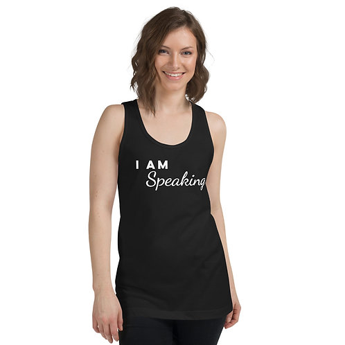 I Am Speaking - Classic tank top (unisex) - American Apparel
