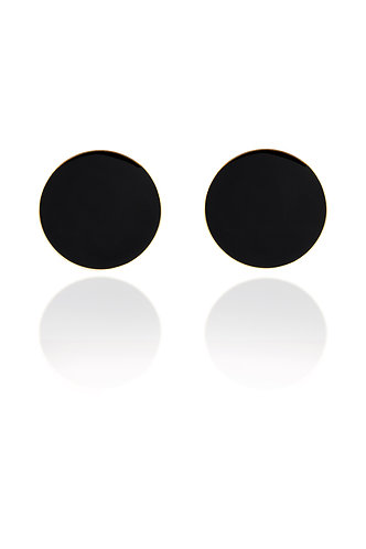 PILON EARRINGS BLACK