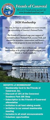 Friends of Canaveral membership form