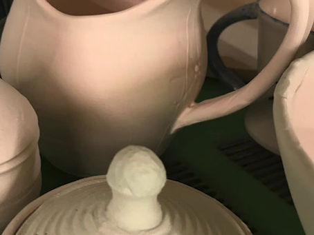 Opening the Kiln on a Glaze fire is like Christmas